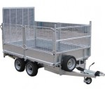10' Flat Bed Drop Side Trailer - MEF30105