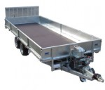 Tilt Bed Trailer Trailer - MTB 2616T2 with Ramp Tailgate